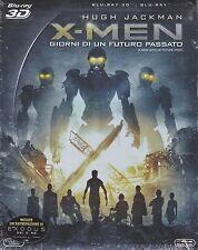 Blu-ray 3D + Blu-ray 2D «X-MEN ♦ GIORNI DI UN FUTURO PASSATO» slipcase 2014