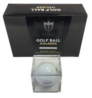 6 Max Pro Golf Ball Squares square holders cubes golfball stackable protectors