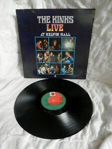 The KINKS~~~LIVE AT KELVIN HALL~~~PYE 202 037---german pressing