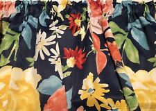 """Floral Curtain Valance  60"""" W x 15""""L  Handmade From Pioneer Woman Fabric"""
