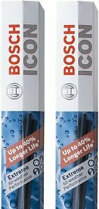 Bosch ICON Wiper Blades 18A18A (Set of 2) Fits Fiat: 18-17 124 Spider, Ford:...