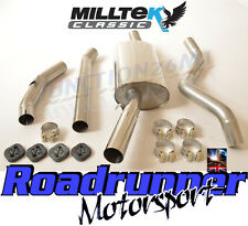 Milltek Golf GTi MK1 Stainless Exhaust System NonRes To Fit Aftermarket Manifold