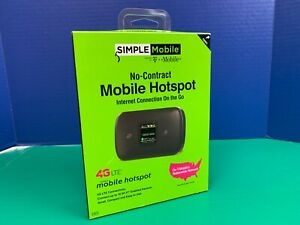 Simple Mobile Moxee 4G No-Contract Mobile Hotspot Color Display BRAND NEW SEALED