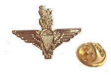 Parachute Regiment Lapel Pin Badge Gold Plated