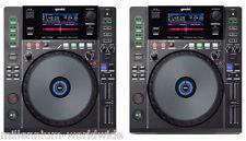 (2) GEMINI MDJ-1000 - PRO DJ MEDIA PLAYER CDJ, CD MP3 USB MIDI Authorized Dealer