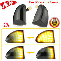 Ultimate Smoked Side Markers Lights For Mercedes Smart W 451 Cabrio Tailor Made