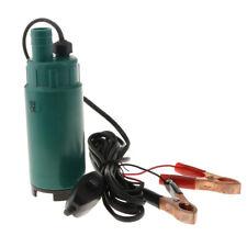 Submersible Diesel Fuel Water Oil Pump Diameter Plastic DC 12V 30L/Min