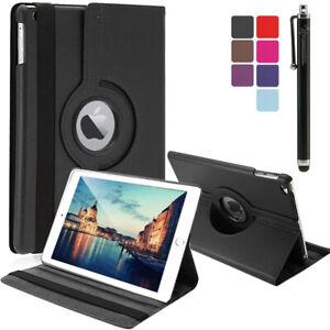 Leather 360 Rotating Case Cover Apple iPad Air Pro 10.5 Air 3 Mini 5 10.2