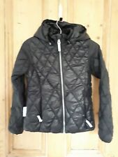 BNWOT Unisex Ticket (to) 2 Heaven Denmark Black Lightweight Jacket 10yrs 140 cm