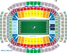 4 Houston Texans vs Jacksonville Jaguars tickets + Parking  Blue section