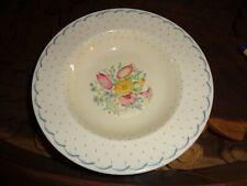 Susie Cooper Large Dessert Bowl PRINTEMPS Pattern