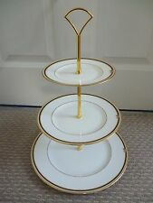 WEDGWOOD CLIO 3 TIER CAKE STAND