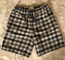 Mini Boden Boys Checked Shorts Size 10
