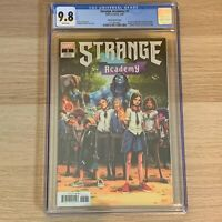 Strange Academy 1 CGC 9.8 Ramos 1:25 Variant High Grade Many 1st Appearances NM
