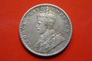 Indien, 1 Rupie, George V., 1917, Silber, original