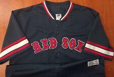 Dynasty Boston Red Sox Baseball David Ortiz Authentic Stitched Jersey XL ~NEW~