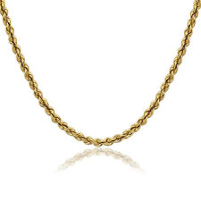 Real 10k Yellow Gold Necklace Gold Rope Chain 2.00 mm 16 18 20 22 24 26 28 30