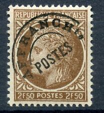 STAMP / TIMBRE FRANCE PREOBLITERE NEUF SANS CHARNIERE N° 93 ** / TYPE CERES