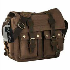 Canvas Messenger Bag Outdoor Retro Shoulder School Bag Unisex