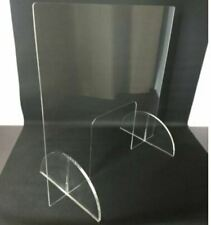 Clear Acrylic Sneeze Guard safety shield stands included FREE SHIPPING AUS MADE