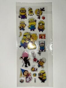 MINIONS New In Package Stickers FREE SHIP! (S)