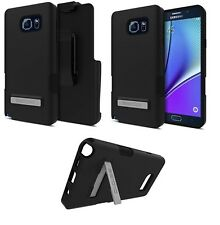 Oem Seidio Dilex Pro Case Combo Holster For Samsung Galaxy Note 5 Note5 Black
