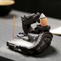Dragon Incense Burners Smoke Back flow Best Cone Censer Stick Holder Home DNYFK