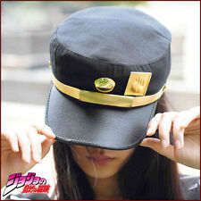 Anime Cosplay Visor cap JOJO Bizarre Adventure Jotaro Kujou Army Military Hat