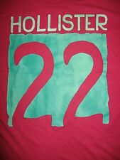 ~Hollister~ Size Small ,Hot Pink w'Grn SS T-Shirt, Great Shape!!!