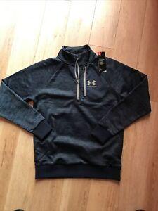 Under Armour Half Zip Fleece Lined Mens Golf Top Medium