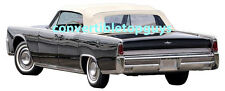 LINCOLN CONTINENTAL CONVERTIBLE TOP PACKAGE 1964-1965