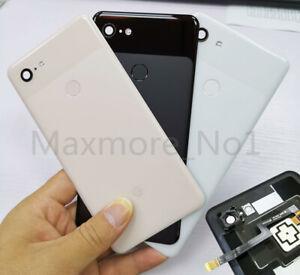 Housing Rear Back Battery Cover With Fingerprint For Google Pixel 3 XL G013C 6.3