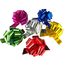 Metallic Pull Bows with 18 Loops, 2-Piece