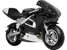 Front Tire Wheel Rim 90 65 6.5 Disk Moto Tec 33cc Mini Pocket Bike MT-GP MT-03