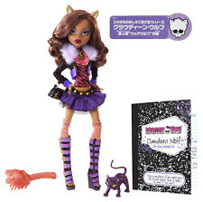 Monster High Clawdeen Wolf ORIGINAL FAVORITES Puppe JAPAN Version SELTEN BBC42
