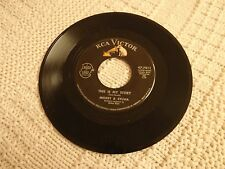 MICKEY & SYLVIA  THIS IS MY STORY/WHAT WOULD I DO  RCA 7811 M-