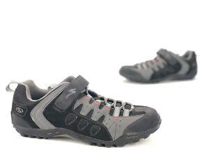 Women's Specialized Taho MTB Cycling Biking Shoes 6127-1044 Black Gray US 10.5