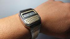 Vintage NOS 1970's Pulsar Y739-5019 Calculator-Alarm Watch