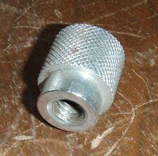 """NOS Small Delta Rockwell Steel knob 3/8""""x16 internal thread 14"""" Drill Press"""