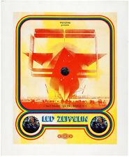 "Led Zeppelin Concert Poster, Salt Lake City 11 x 14"" Photo Print"