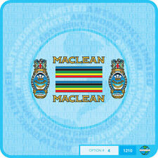 Maclean - Bicycle Decals Transfers - Stickers - Set 4