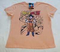 Dragonball Z Ladies Goku Printed Short Sleeve T Shirt Size XL New