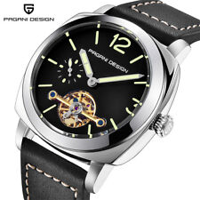 PAGANI DESIGN Luxury Army Men's Automatic Self-Wind Wrist Watch Luminous Dial
