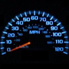 Dash Instrument Cer Gauge Aqua Blue Led Lights Kit Fits 95 02 Hyundai Accent