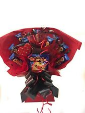 EASTER  CHOCOLATE ORANGE SWEET TREE BOUQUET UNIQUE GIFT FOR HIM OR HER