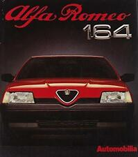 ALFA ROMEO 164 AUTOMOBILIA NEW GREAT CAR SERIES 12, NEW 1987 BOOK ON SALE NOW