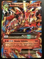Carte Pokemon BRASEGALI XY86 PROMO Mega EX FR NEUF