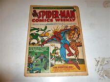 SPIDER-MAN Comics Weekly - No 9 - Date 14/04/1973 - UK Paper Comic