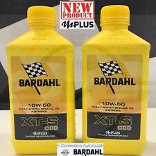 BARDAHL XTS XT-S C60 10W50 mPlus OLIO SINTETICO 4T MOTO ALTE PRESTAZIONI 2 LITRI
