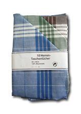 20 Farbige Herrentaschentücher Stoff Taschentücher ARABIAS 100% Baumwolle WOW